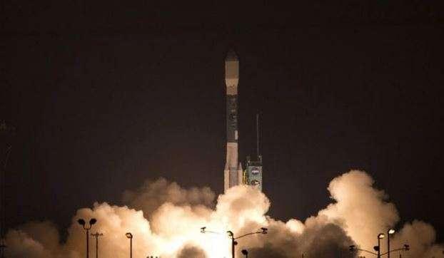 El satélite fue lanzado en un cohete Delta 2. Foto: AFP en español