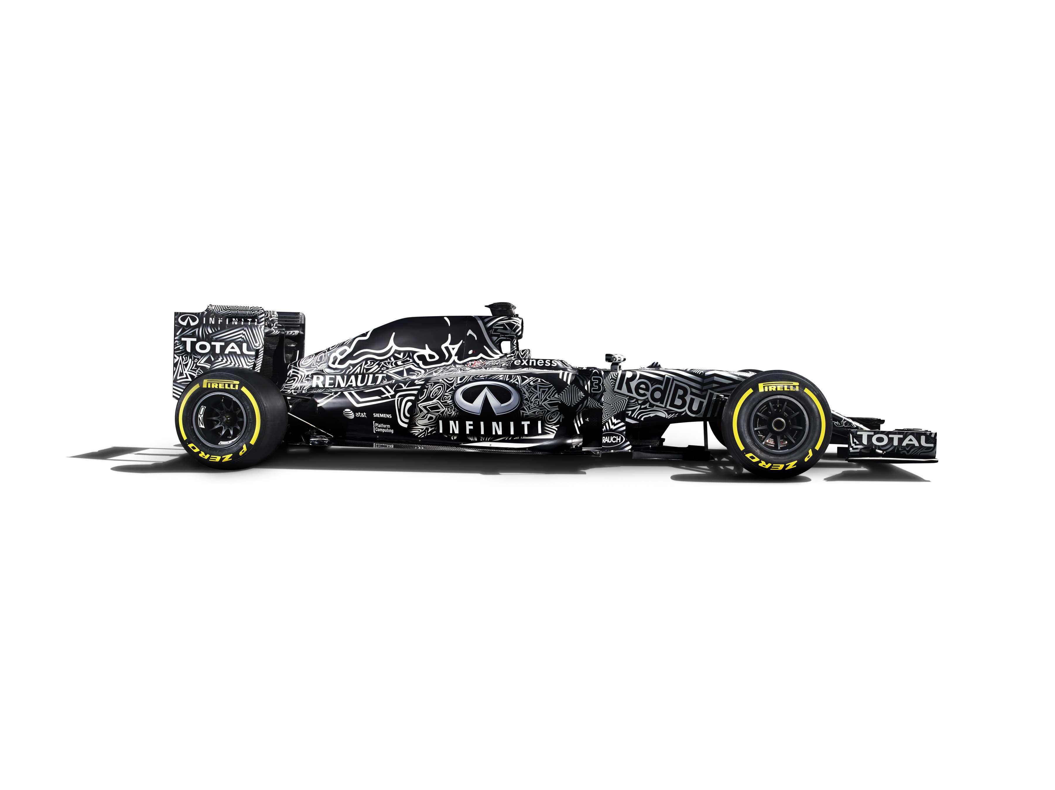 Red Bull apresenta carro estilo camuflado Foto: Red Bull/Divulgação