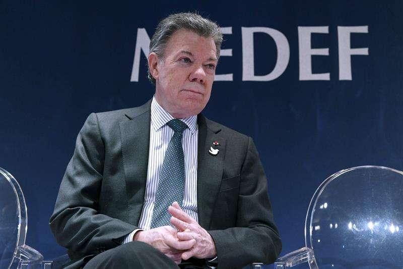Juan Manuel Santos, presidente de Colombia Foto: EFE en español