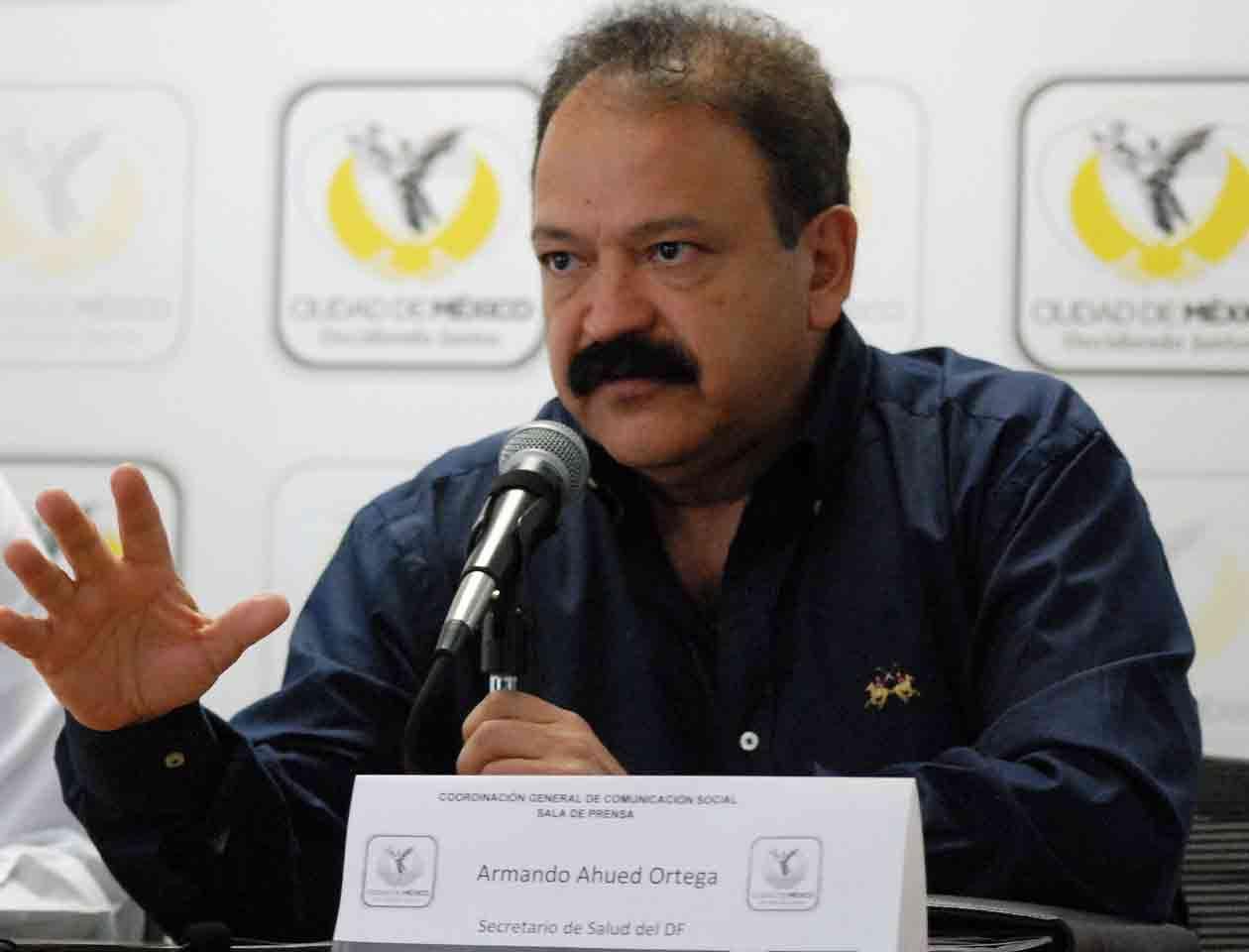 Armando Ahued, secretario de Salud del DF, precisó que 16 personas podrían ser dadas de alta en las próximas 72 horas Foto: Notimex