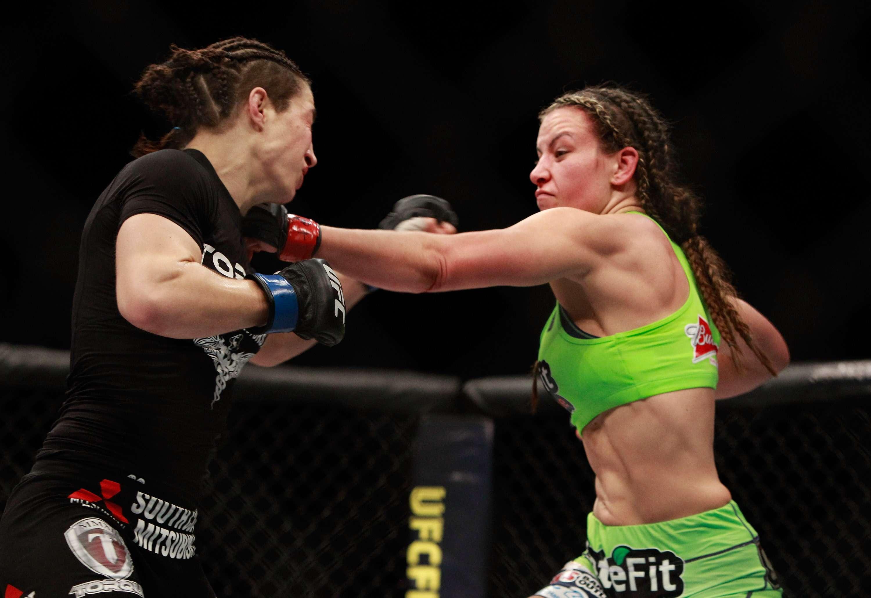 Con esta victoria se le abre a Tate otra posible pelea ante Ronda Rousey por el título mundial. Foto: Getty Images