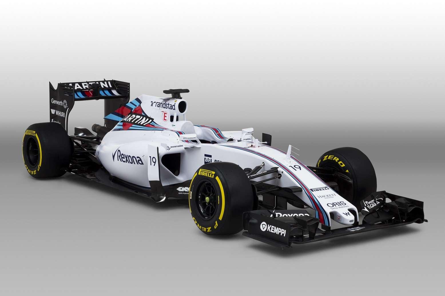 Williams apresenta novo carro Foto: Williams/Divulgação