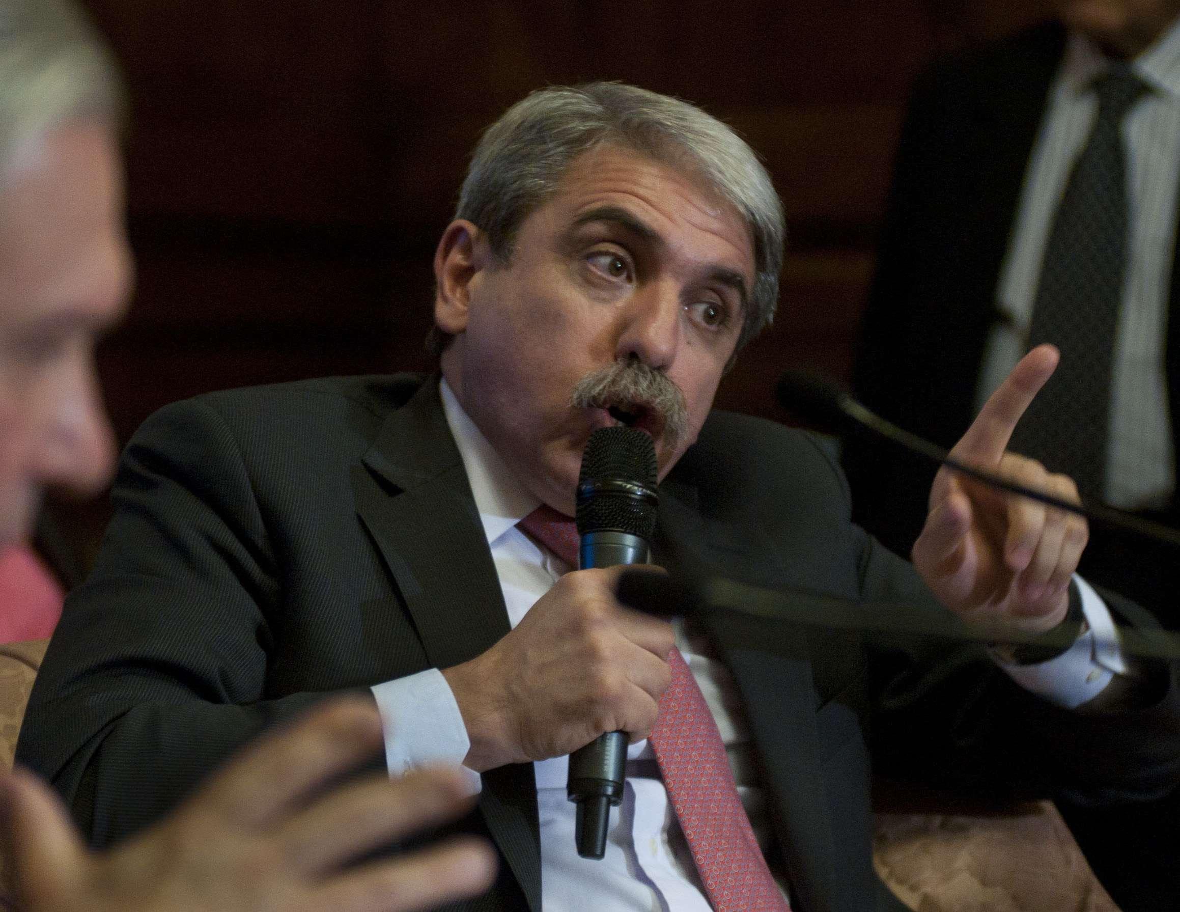 Aníbal Fernández, secretario general de la Presidencia, le pidió públicamente a la fiscal Viviana Fein que no se tome vacaciones. Foto: NA
