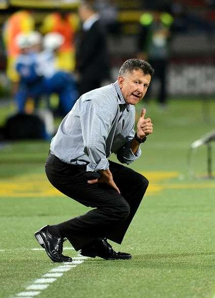 Juan Carlos Osorio, técnico de Atlético Nacional, asumió la responsabilidad de la derrota frente al Huila. Foto: Getty Images