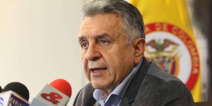 Luis Eduardo Garzón, ministro de Trabajo. Foto: Ministerio de Trabajo