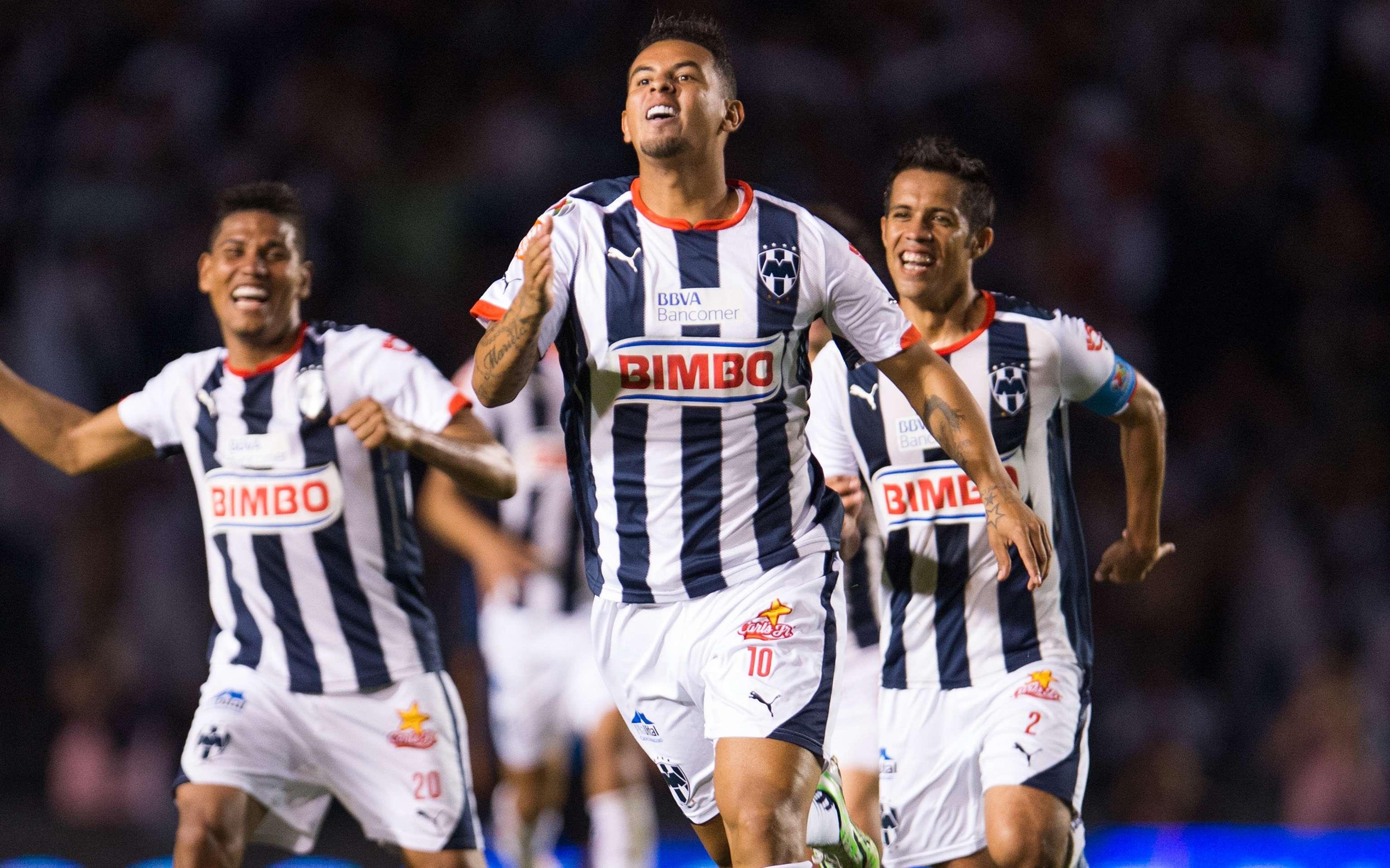 Edwin Cardona marcó el mejor gol de la jornada 7, en el triunfo de Rayados sobre Querétaro. Foto: Mexsport