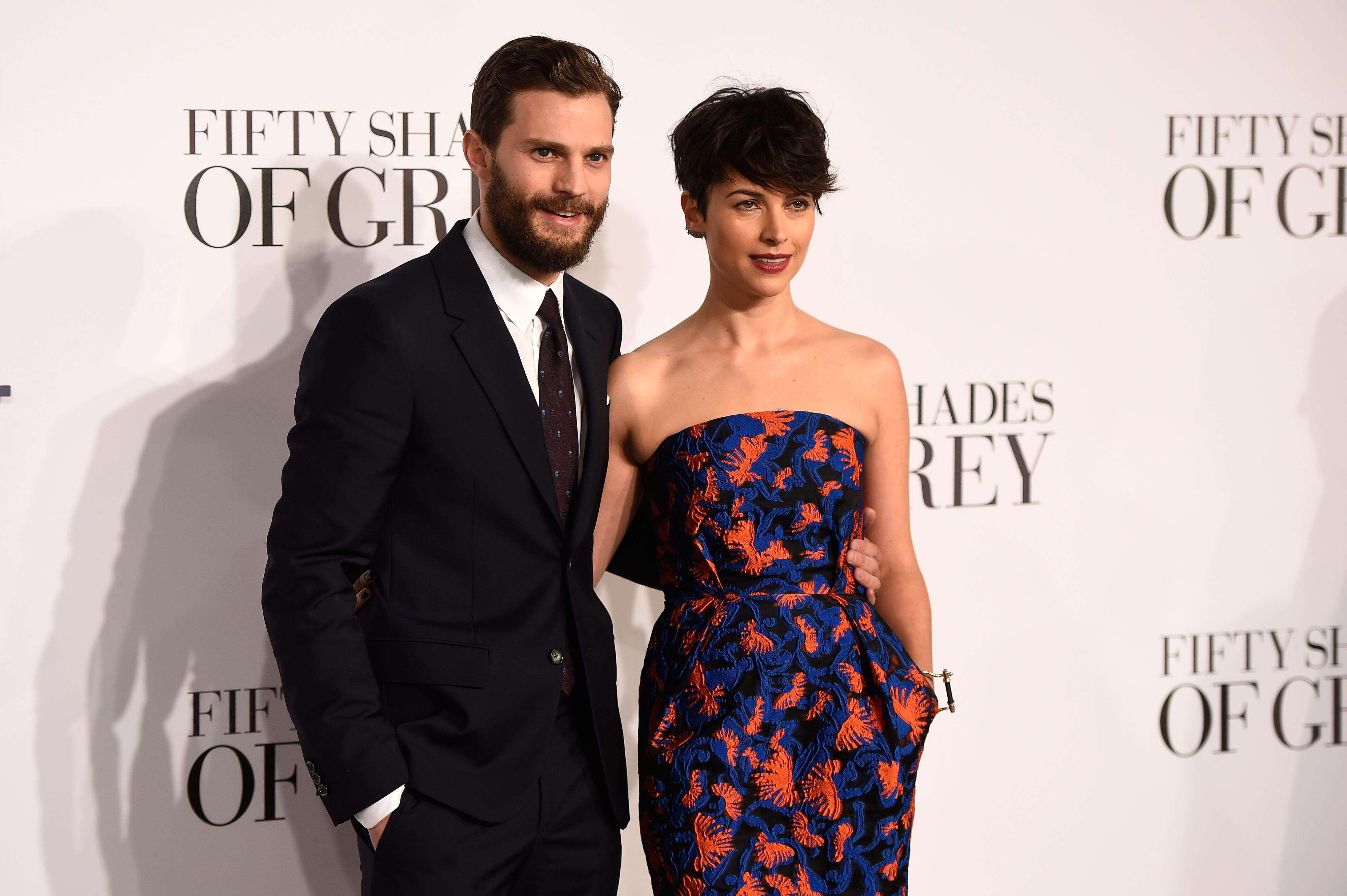 Jamie Dornan dejaría de ser 'Christian Grey' por 'culpa' de su esposa. Foto: Getty Images
