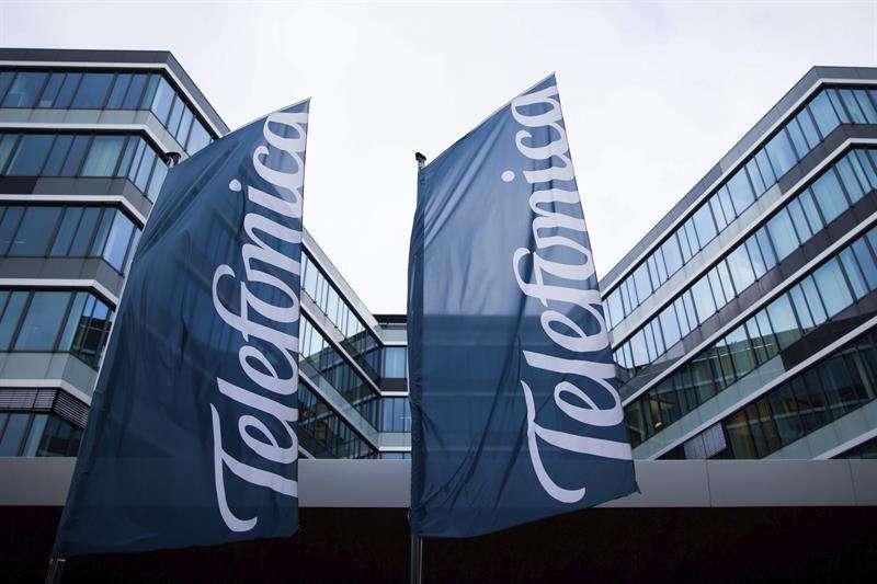 Fachada de la sede de Telefónica en Düsseldorf (Alemania) Foto: EFE en español