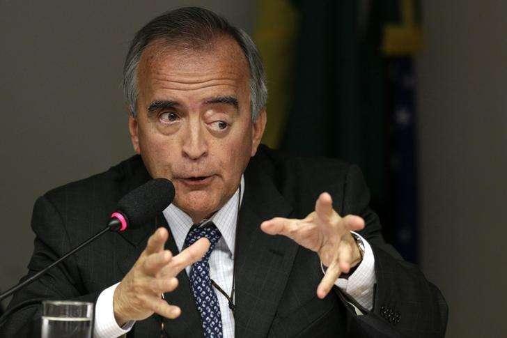 Ex-diretor da Petrobras Nestor Cerveró participa de audiência em comissão do Congresso, em Brasília. 16/04/2014 Foto: Ueslei Marcelino/Reuters