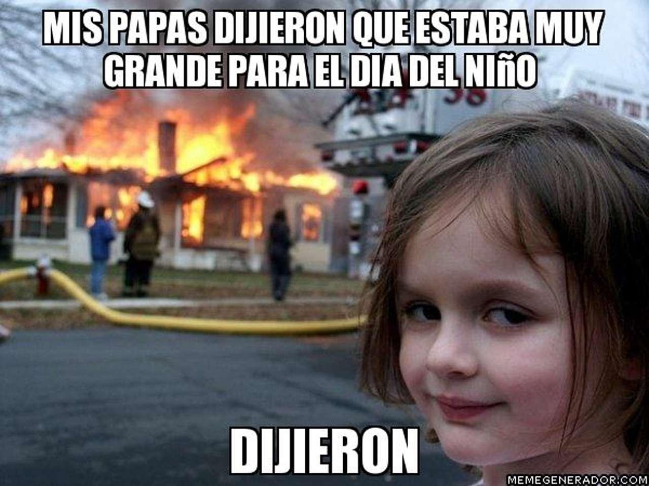 Memes de niños malvados Foto: memeGenerador.es