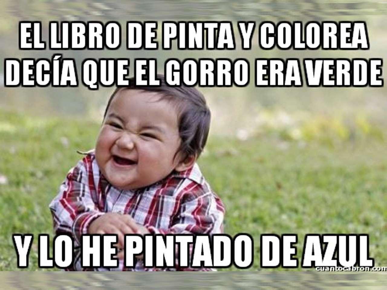 Memes de niños malvados Foto: memegenerator.es