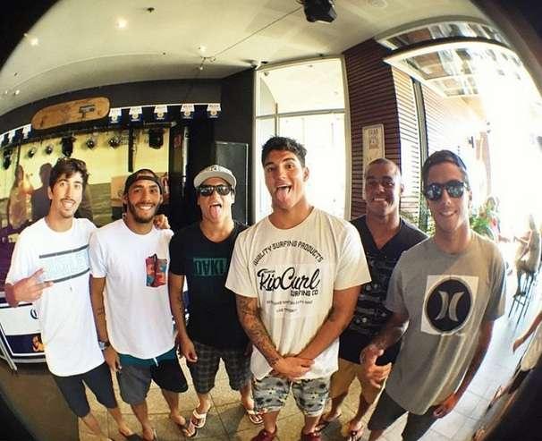 Brazilian Storm está pronta para temporada de 2015 no Circuito Mundial de Surfe Foto: Instagram/Reprodução