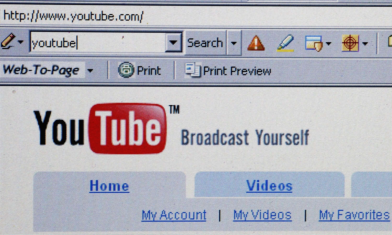 YouTube cuenta con cerca de mil millones de usuarios al mes. Foto: Getty Images