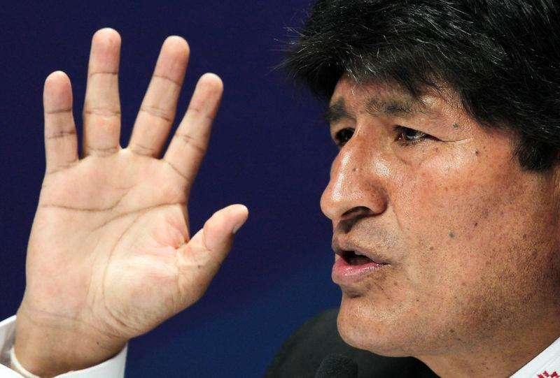 El presidente de Bolivia, Evo Morales, en la cumbre de la CELAC en San Antonio de Belén Heredia en Costa Rica, ene 29 2015. El presidente de Bolivia, Evo Morales, acusó el jueves a Estados Unidos de conspirar para provocar una crisis política en Venezuela, donde las protestas han aumentado en las últimas semanas. Foto: Juan Carlos Ulate/Reuters