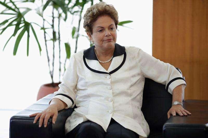 Presidente Dilma Rousseff participa de encontro com ministro das Relações Exteriores da Alemanha em Brasília. 13/02/2015 Foto: Ueslei Marcelino/Reuters