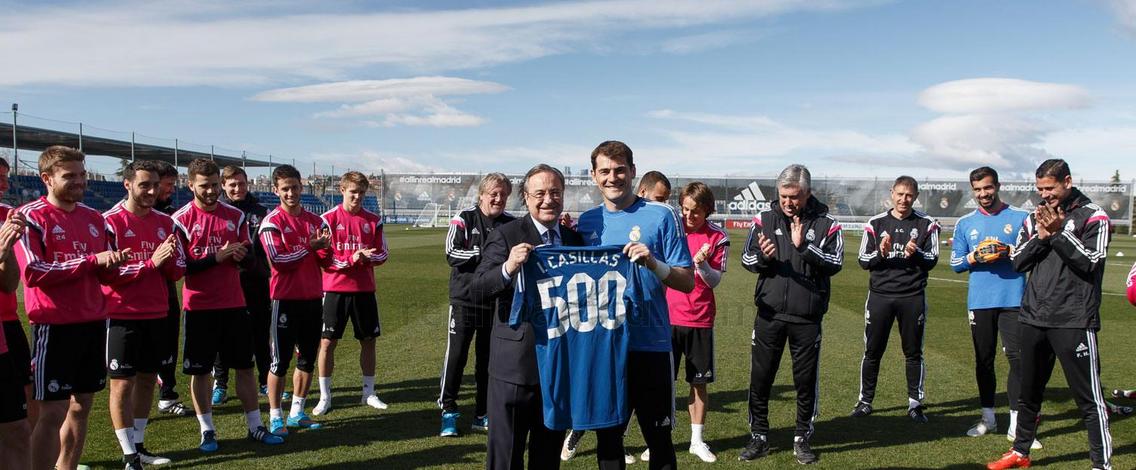 Iker Casillas Foto:  ÁNGEL MARTÍNEZ/Real Madrid