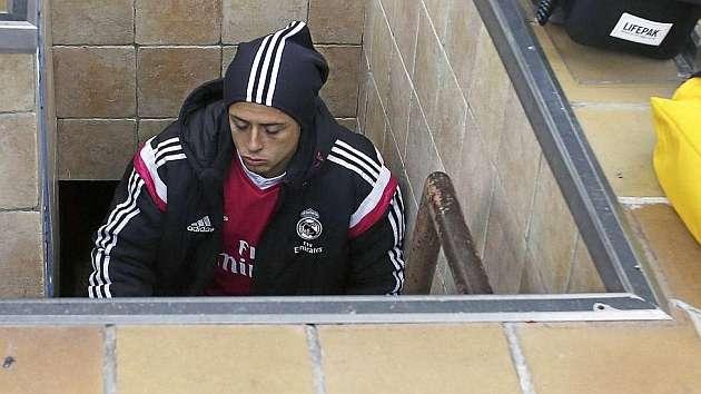 Hernández no es tomado en cuenta con el Real Madrid. Foto: Especial