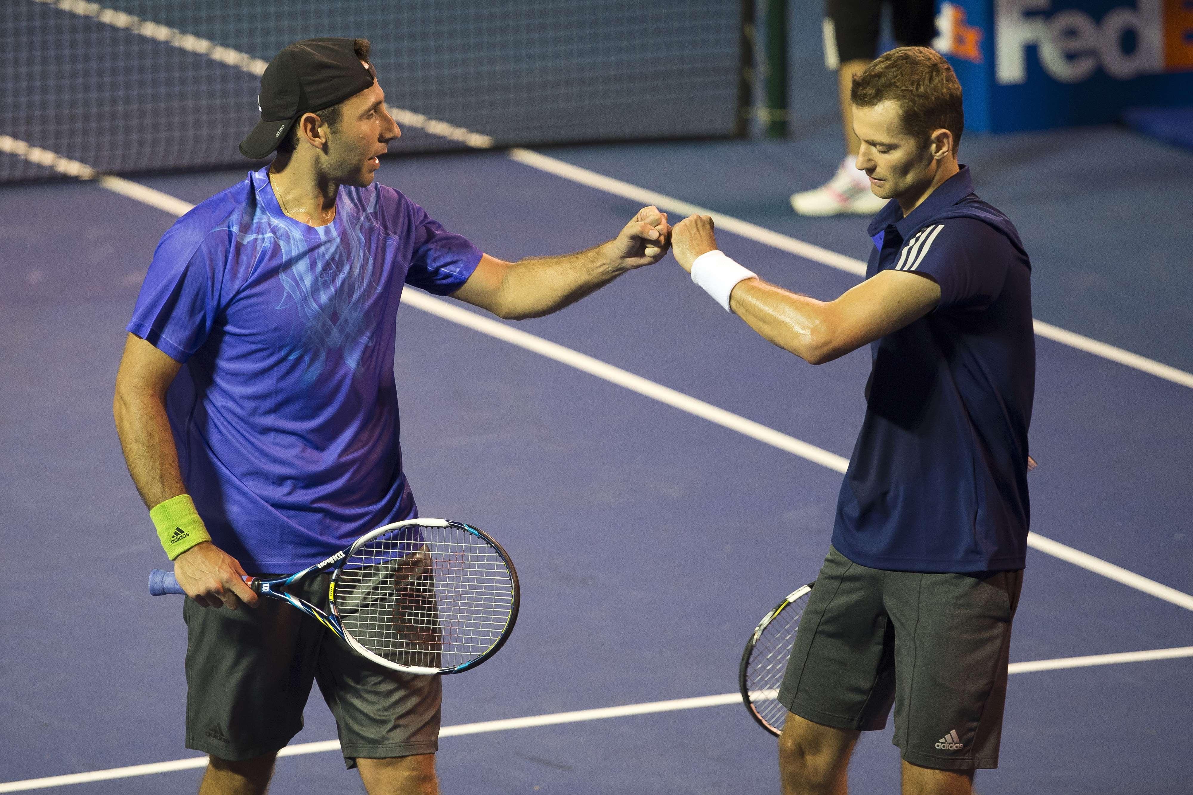 Santiago González y Mariuisz Fyrstenberg siguen cumpliendo con los pronósticos Foto: Mexsports