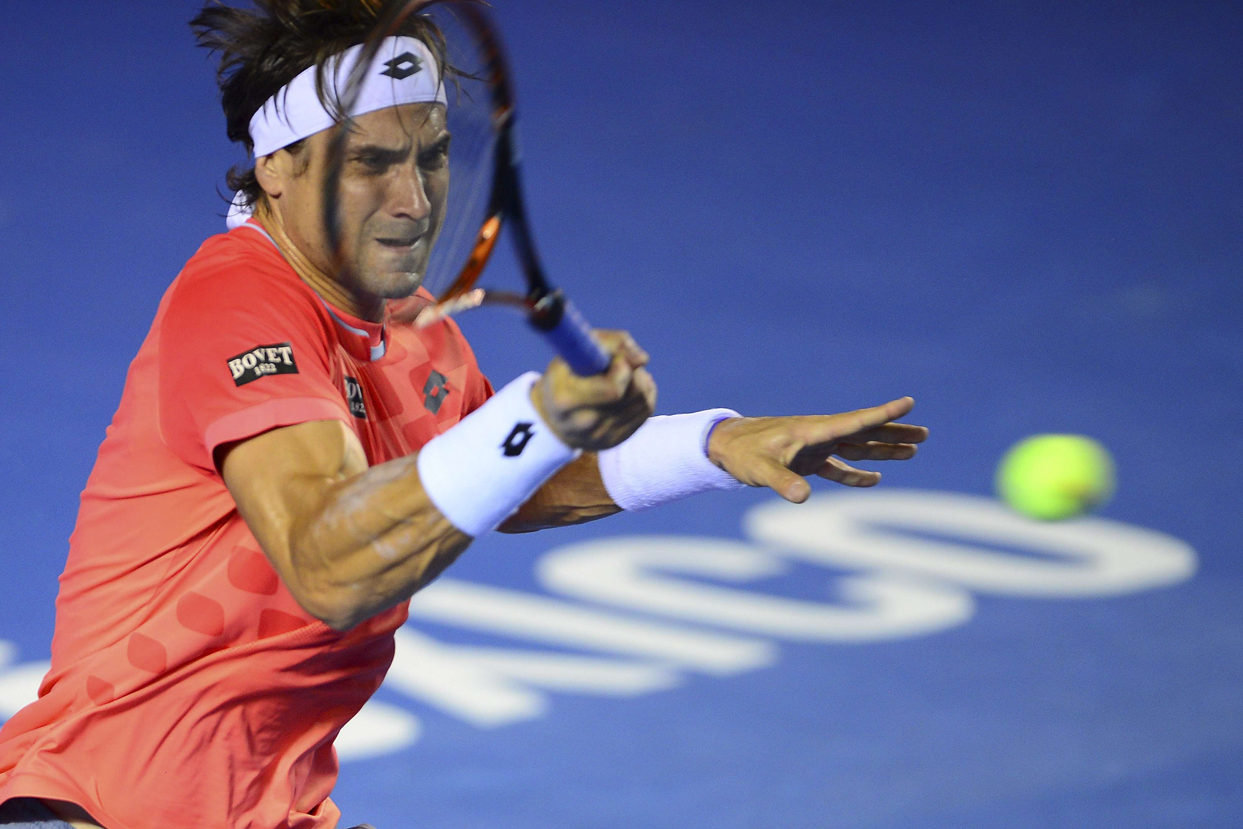 David Ferrer volvió a ganar en tres sets Foto: Mexsports
