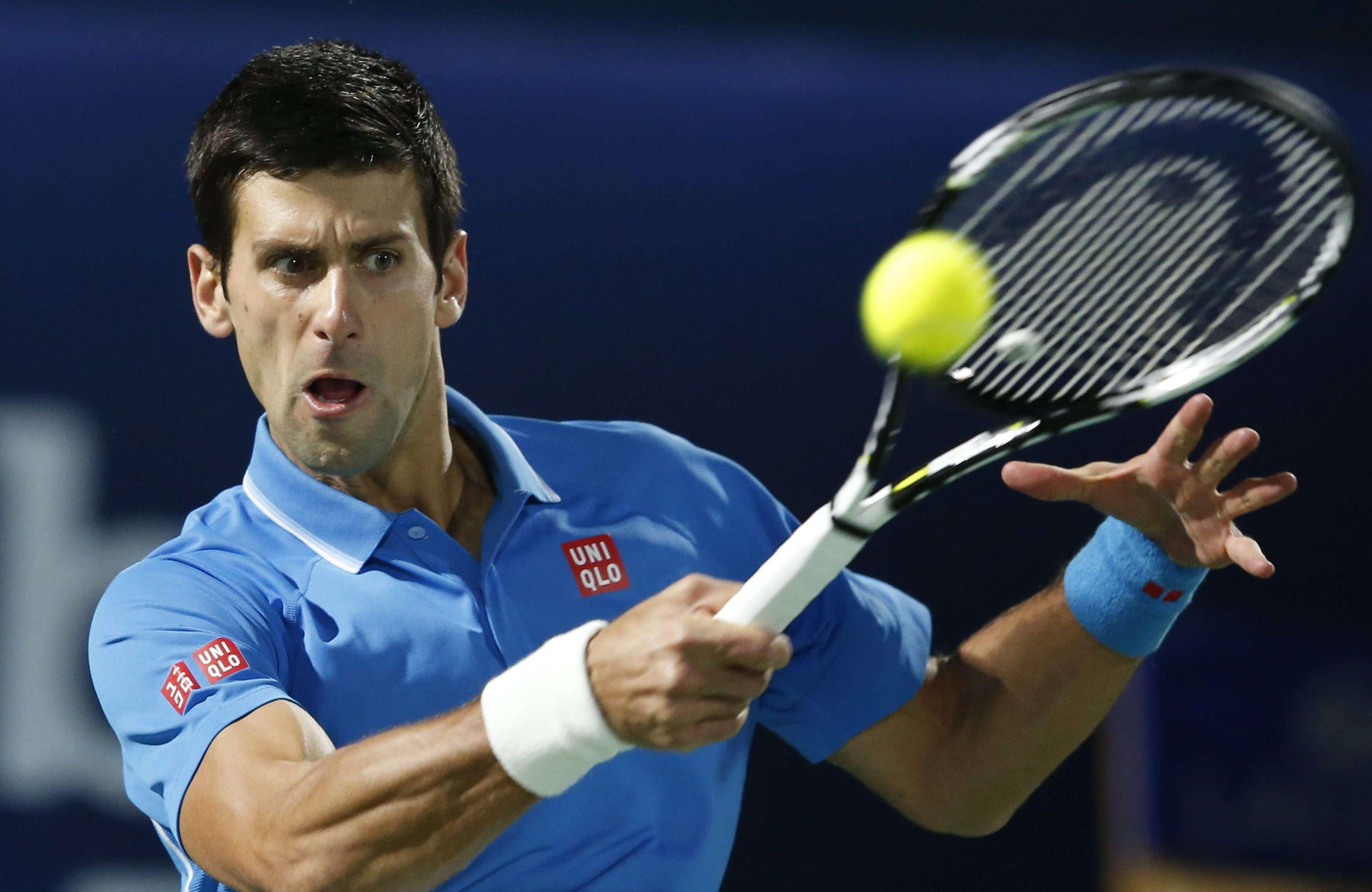 Djokovic tuvo un duro partido contra Berdych. Foto: EFE