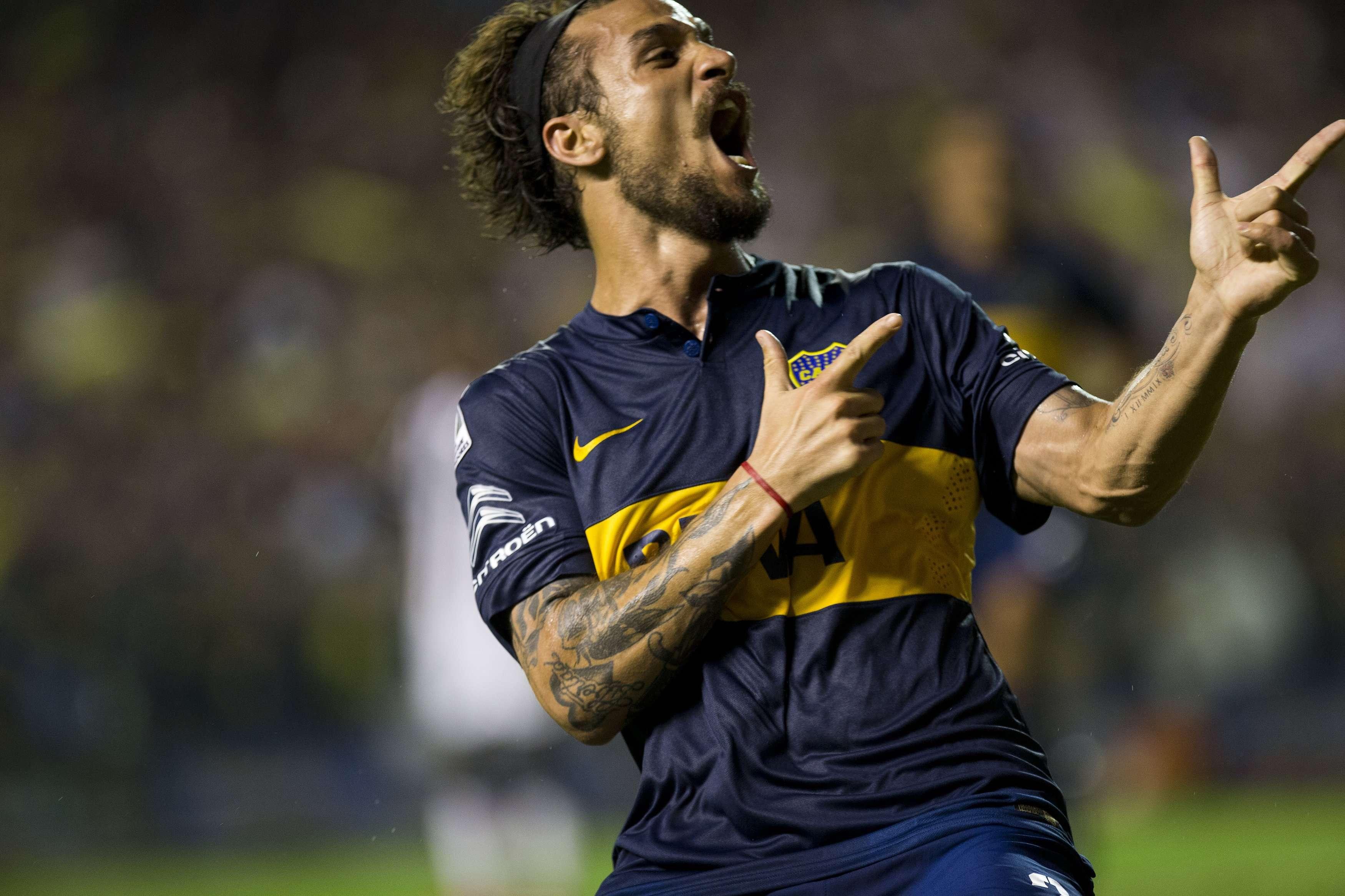 Boca Juniors se impone 2-1 al Wanderers en Copa Libertadores. Foto: AP