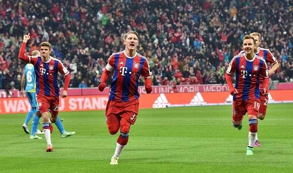 El Bayern 'corre' hacia el título otra vez. Foto: Getty Images