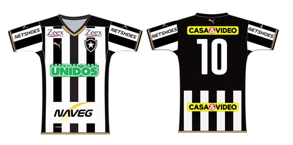 Botafogo terá patrocínios pontuais Foto: Reprodução