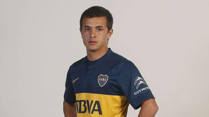 El juvenil Andrés Cubas Foto: Prensa Boca Juniors