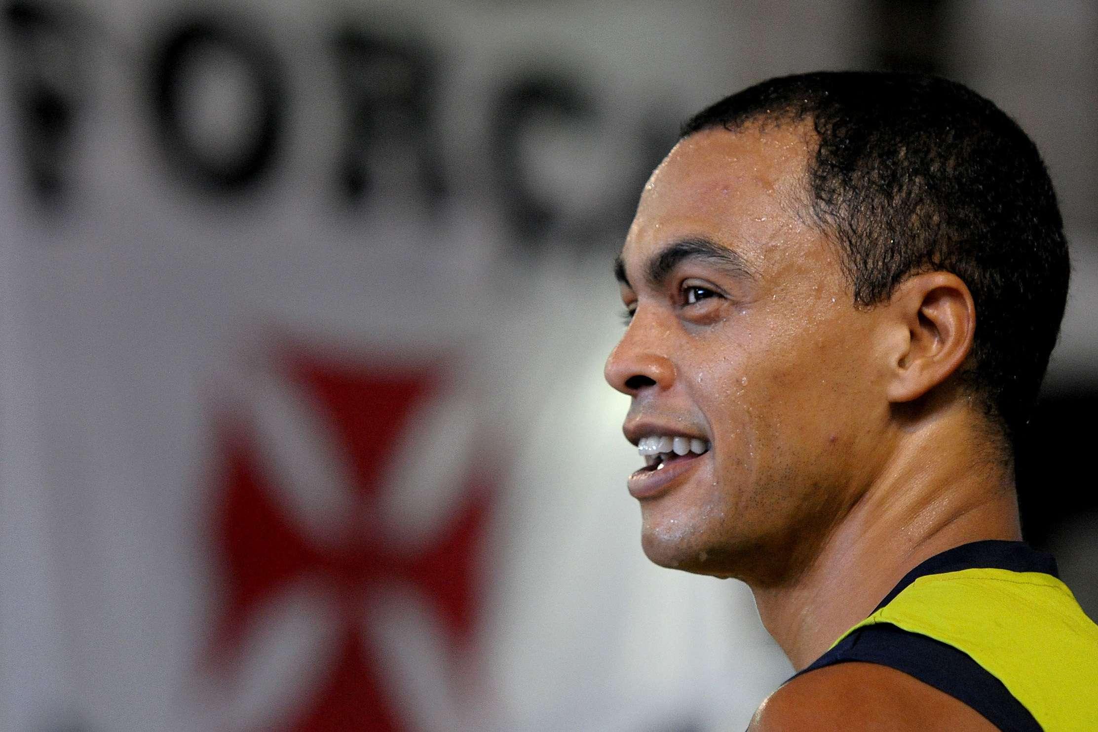 Dodô foi contratado pelo Vasco após cumprir suspensão por doping Foto: Marcelo Sadio / Agif/Gazeta Press