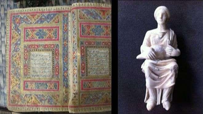 Desde o início do conflito, aumentou a ameaça ao patrimônio histórico da Síria Foto: BBCBrasil.com