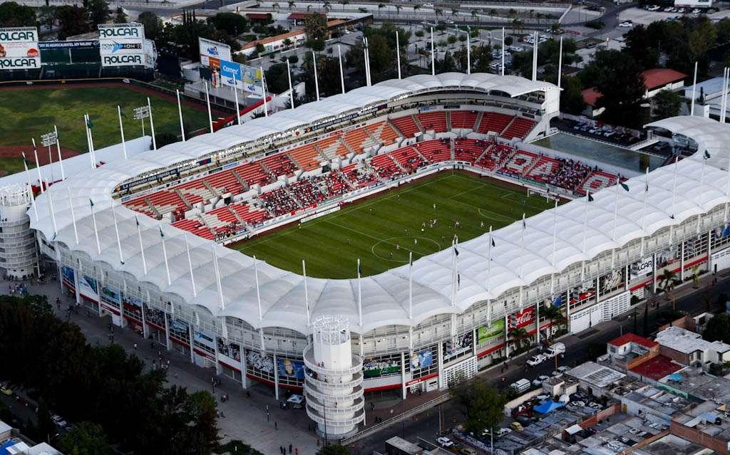 El estadio Victoria es de los más 'espectaculatres' en el Ascenso MX. Foto: Especial