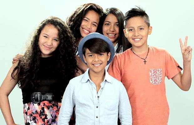"""Los semifinalistas de la segunda temporada de """"La voz kids"""". Foto: Difusión Latina"""