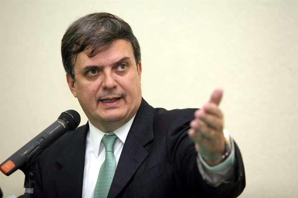El exjefe de gobierno del DF, Marcelo Ebrard, se deslindó de las fallas en la Línea 12 del Metro y aseguró que demostrará su inocencia. Foto: Reforma