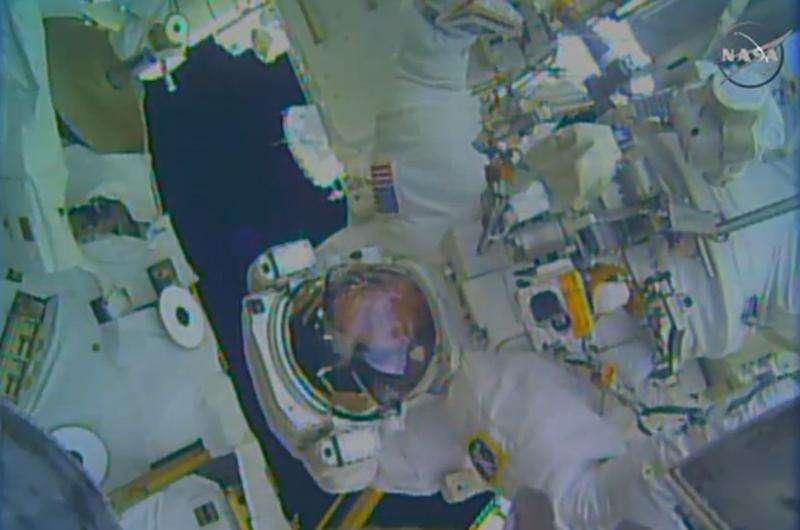 Astronauta Terry Virts em expedição da Nasa. 25/02/2015. Foto: NASA/Reuters