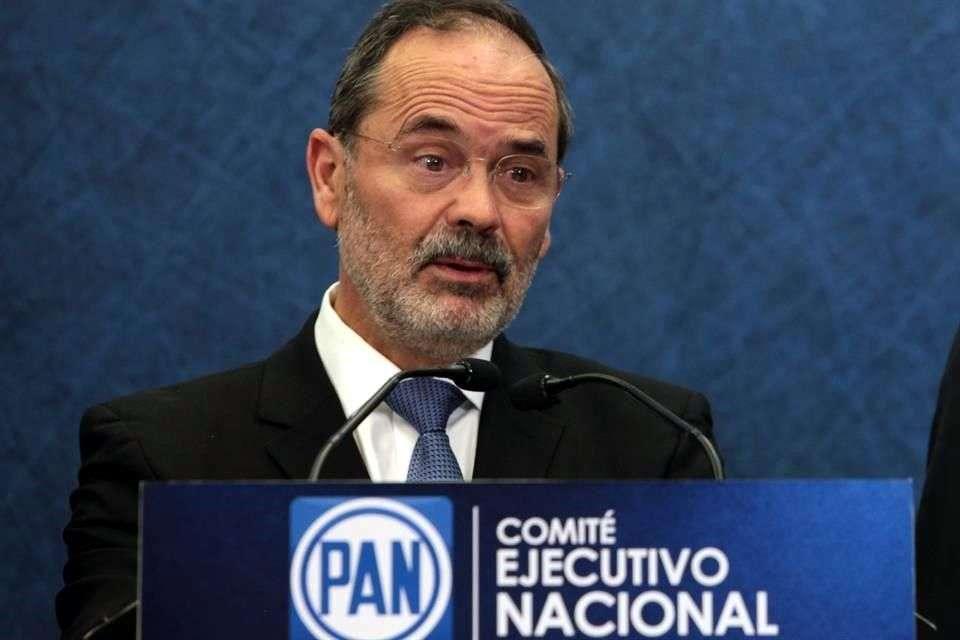 El panista consideró que el presidente del INE está dando mensajes positivos para que los partidos de Oposición regresen al Consejo General. Foto: Reforma