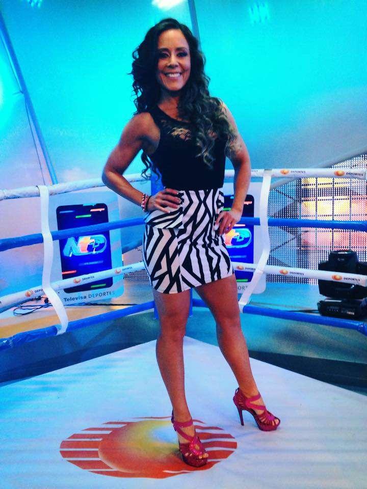 Rebeca Rubio, conductora de Televisa Deportes. Foto: Facebook rebeca.fitness