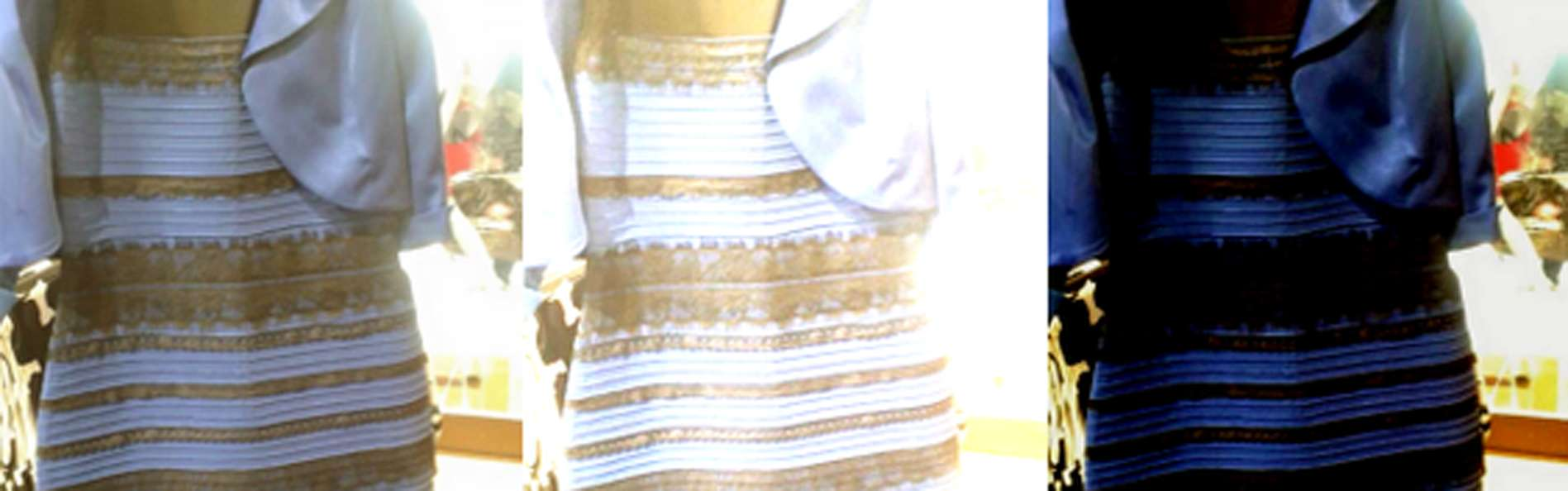 #TheDress. Foto: Tumblr / Swiked