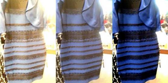 De que cor é esse vestido? Foto: Twitter/Reprodução