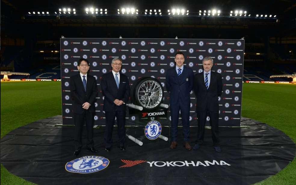El acuerdo del Chelsea es el segundo más grande de la Premier, sólo después del que Manchester United tiene con Chevrolet. Foto: Twitter