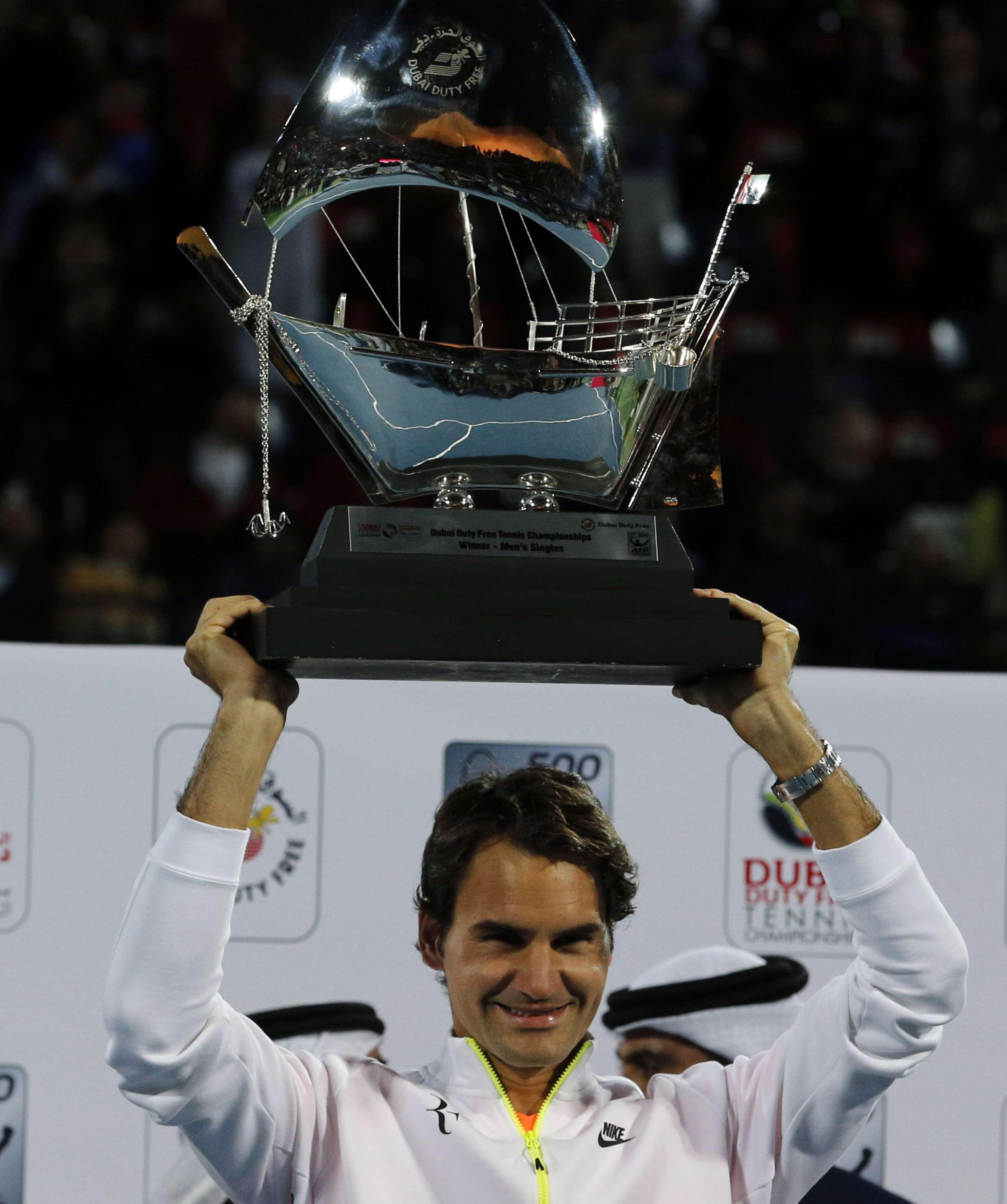 Es el título 84 en la carrera de Federer. Foto: AFP en español