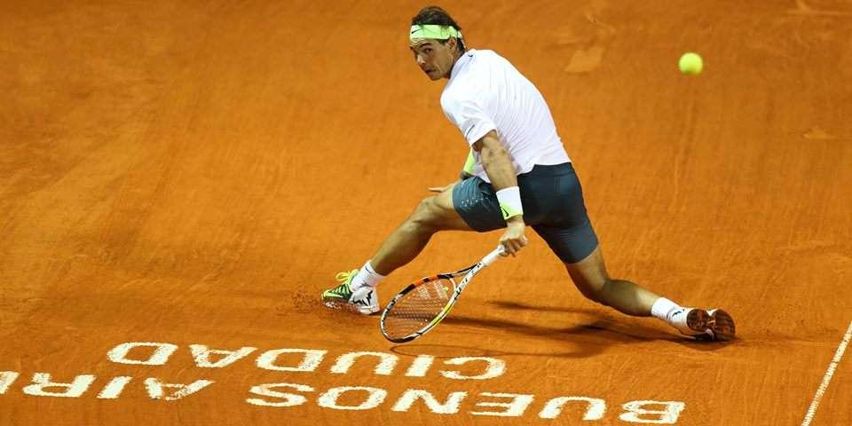 El impresionante Rafa Nadal. Foto: Prensa ATP Buenos Aires