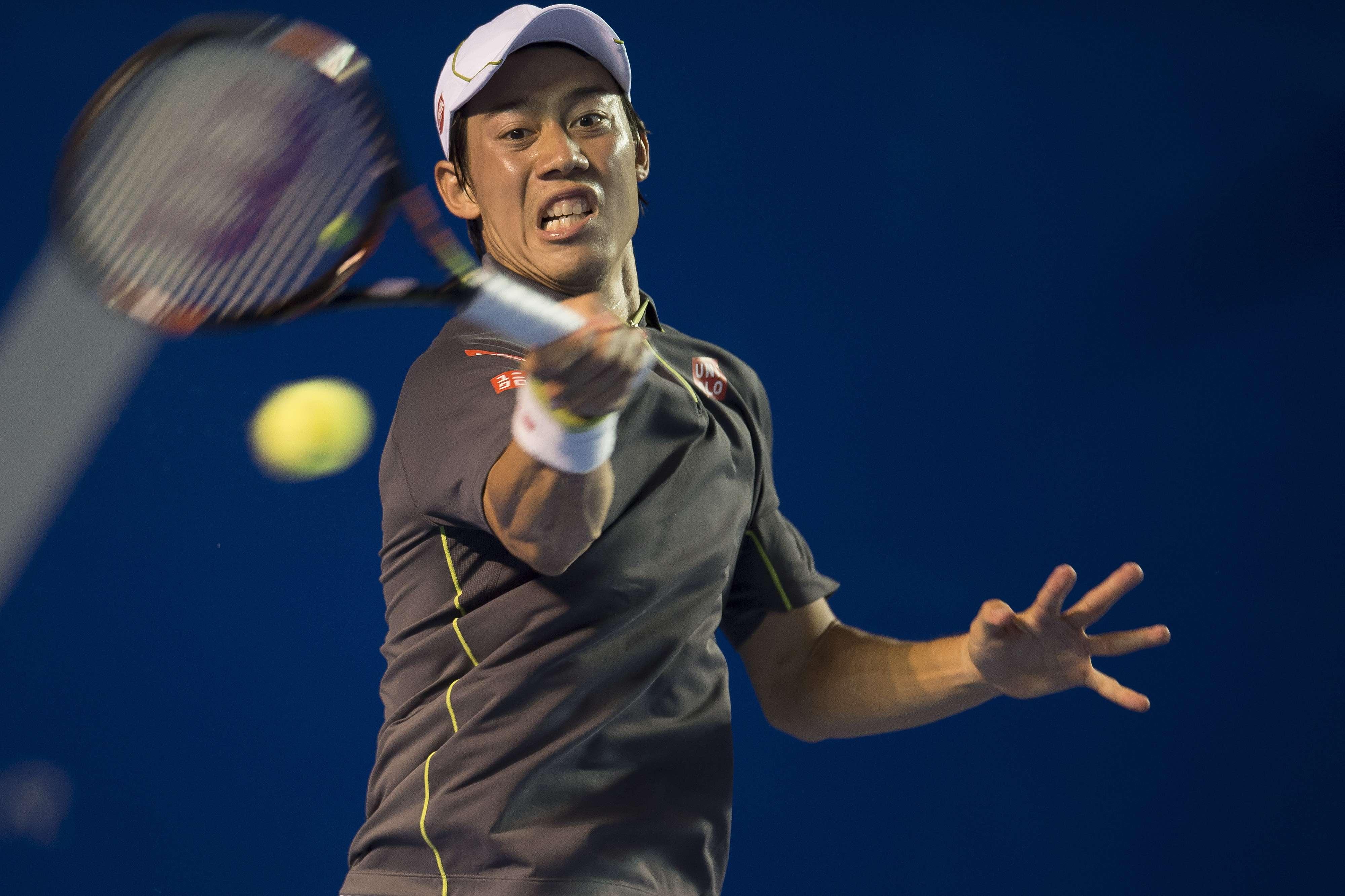 El japonés ganó en tres sets. Foto: Mexsport