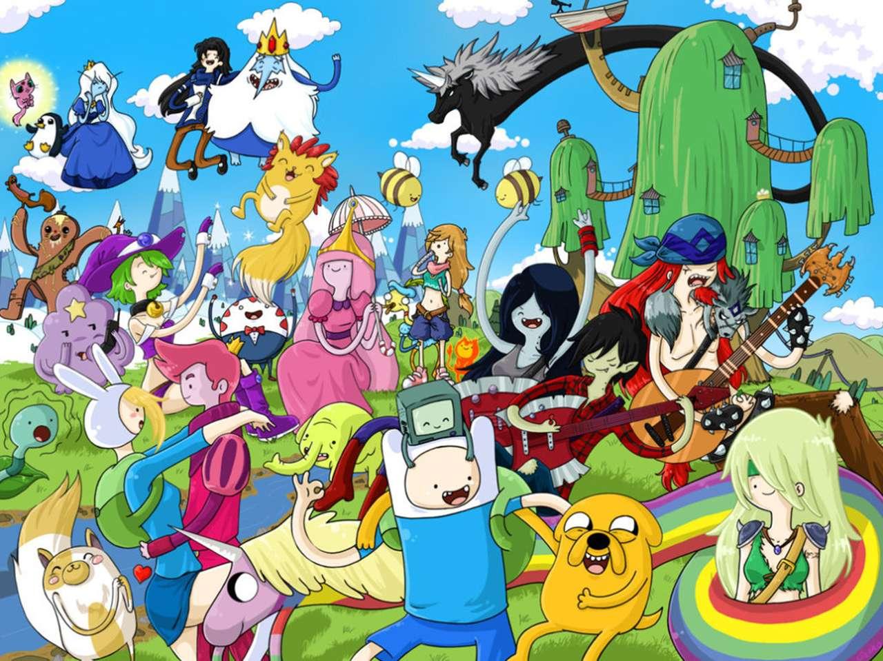Todavía no se ha anunciado cuándo se podría estrenar la película de 'Adventure Time'. Foto: Cartoon Network