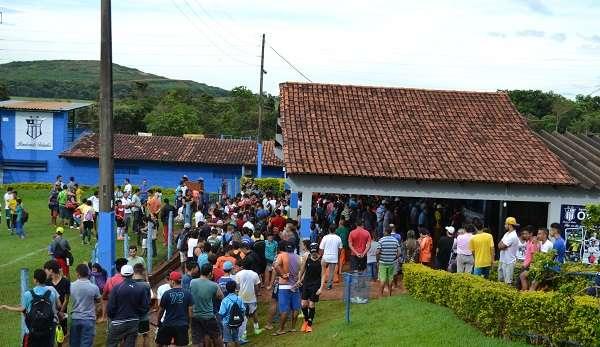 Mais de 400 garotos participaram de peneira na Ovel Foto: João Paulo Di Medeiros/MEI João Paulo Bezerra Di Medeiros - Especial para o Terra