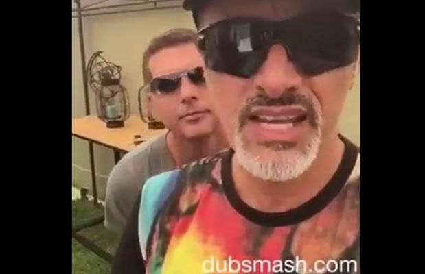 Carlos Alcántara y Christian Meier en divertido Dubmash. Foto: c
