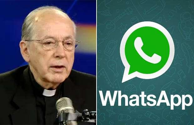 Cardenal Cipriano contra WhatsApp. Foto: RPP video / Internet