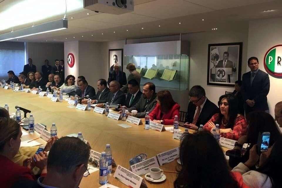 La comisión revisora se instaló ayer Foto: Reforma