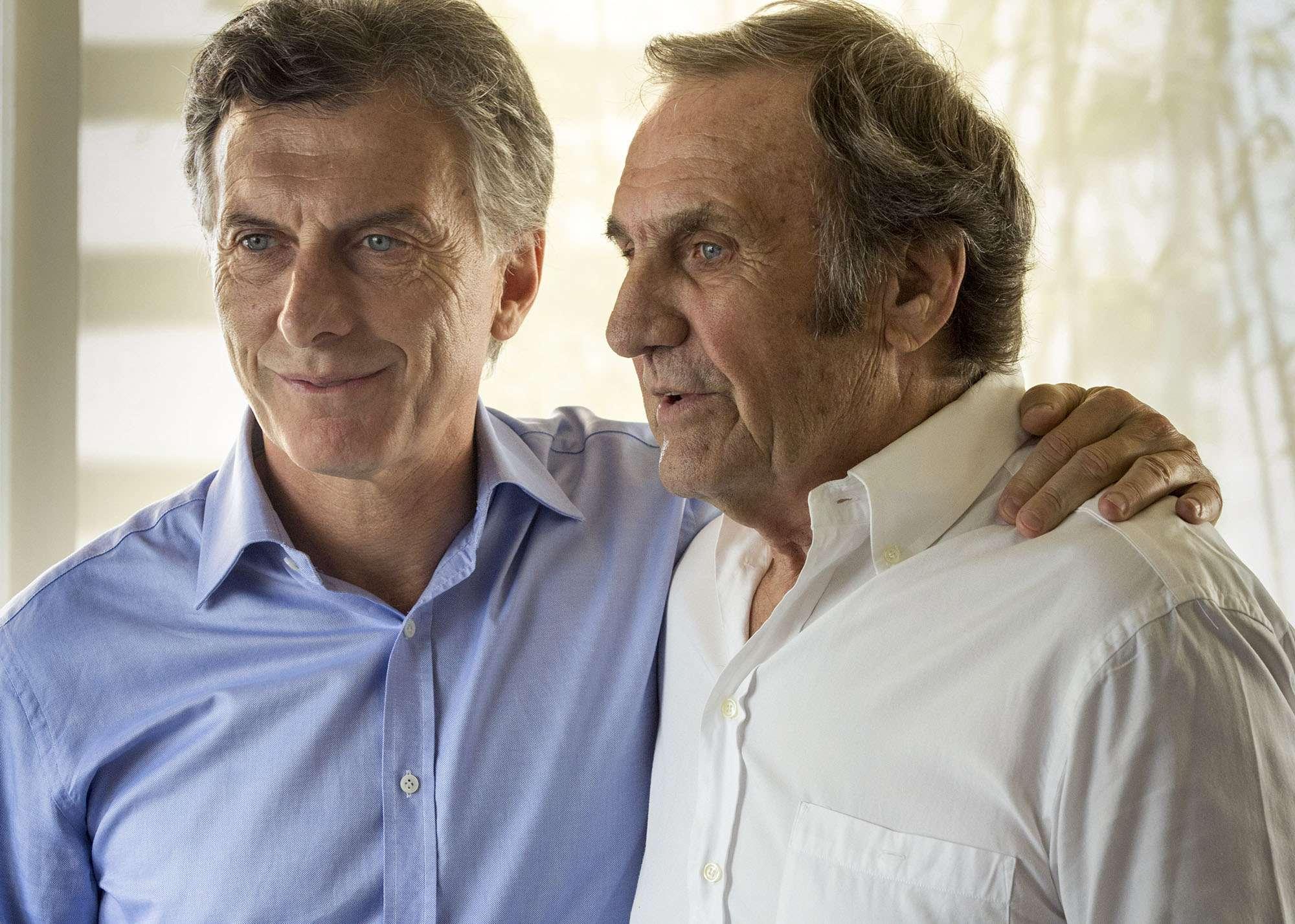 Carlos Reutemann mostró su apoyo al Mauricio Macri como candidato a presidente. Foto: NA