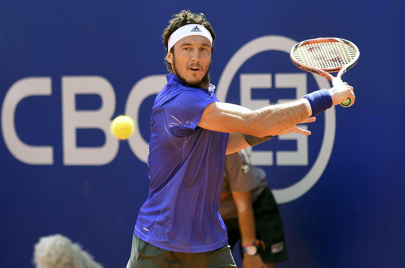 Mónaco avanzó al partido decisivo al superar en semifinales al español Nicolás Almagro por 6-3, 6-7 (6-8) y 6-4 al cabo de dos horas y 28 minutos en el Lawn Tennis Club de Buenos Aires. Foto: NA