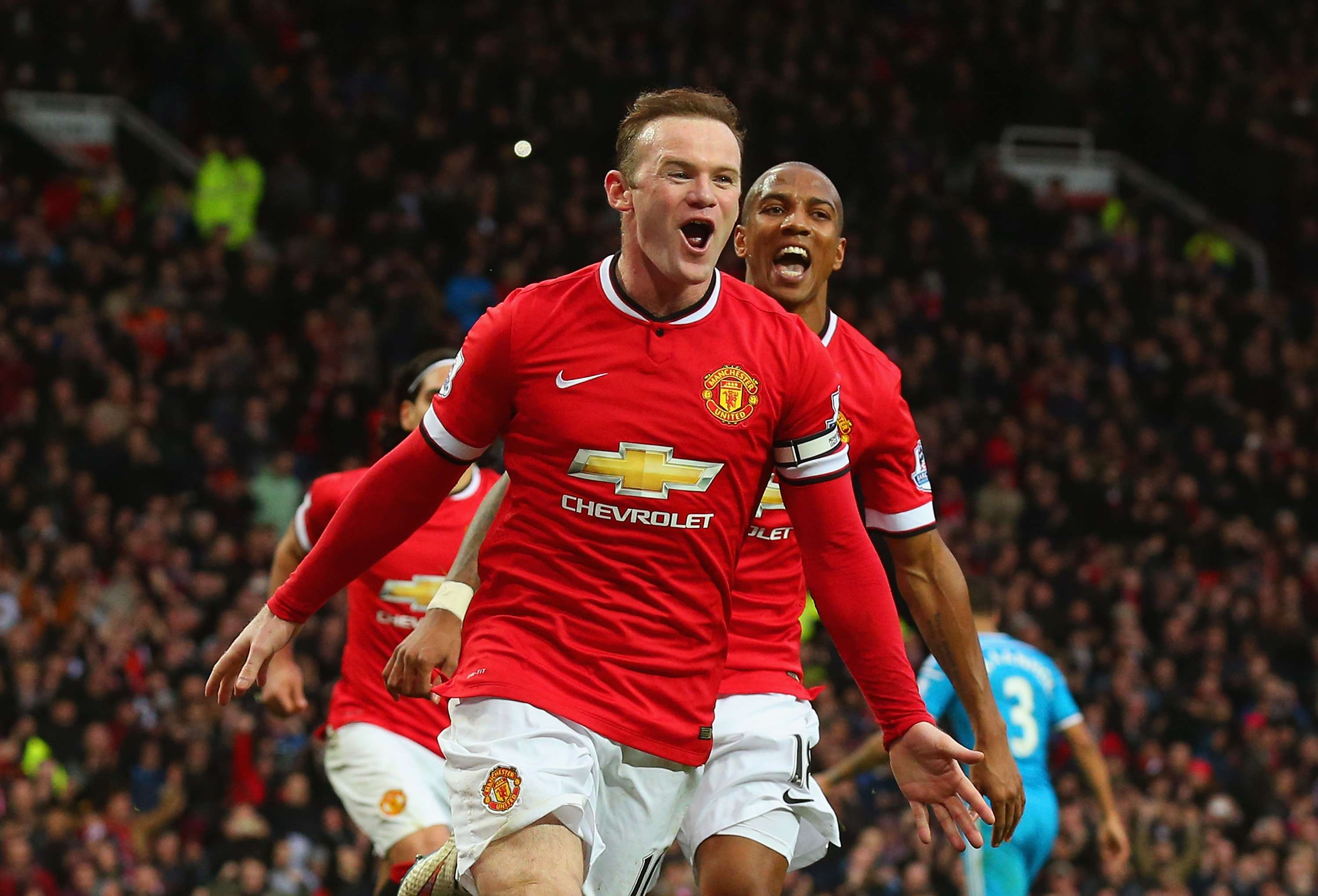 Rooney salvou Manchester United com dois gols Foto: Alex Livesey/Getty Images